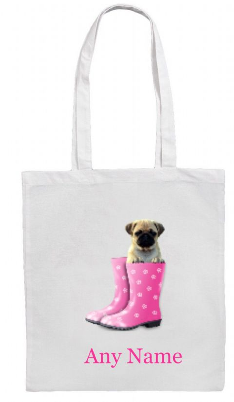 Pug Shoulder Bag